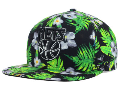 New Jersey Nets New Era NBA HWC Bloom 9FIFTY Snapback Cap