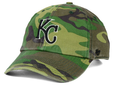 Kansas City Royals '47 MLB Camo '47 CLEAN UP Cap