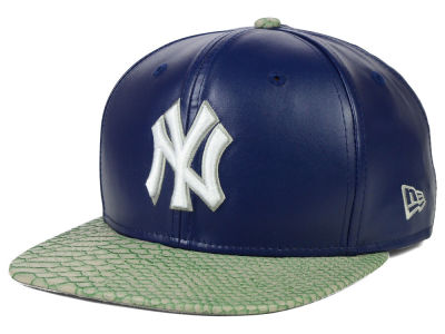 New York Yankees New Era MLB Snake Stop 9FIFTY Strapback Cap