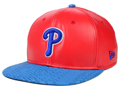 Philadelphia Phillies New Era MLB Snake Stop 9FIFTY Strapback Cap