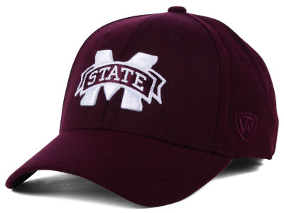 Mississippi State Bulldogs Top of the World NCAA Memory Fit PC Cap