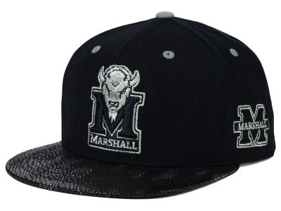 Marshall Thundering Herd Top of the World NCAA Bitten Snapback Cap