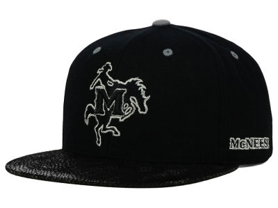 McNeese State Cowboys Top of the World NCAA Bitten Snapback Cap