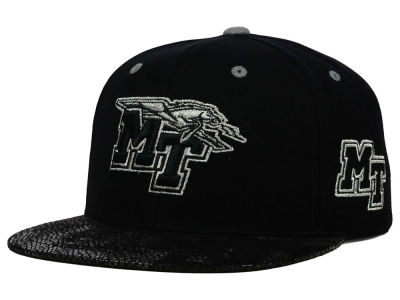 Middle Tennessee State Blue Raiders Top of the World NCAA Bitten Snapback Cap