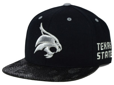 Texas State Bobcats Top of the World NCAA Bitten Snapback Cap