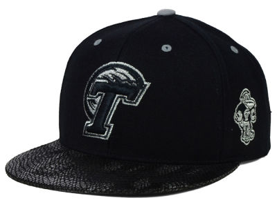 Tulane Green Wave Top of the World NCAA Bitten Snapback Cap