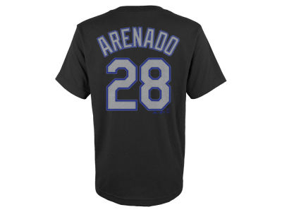 Colorado Rockies Nolan Arenado MLB Youth Official Player T-Shirt