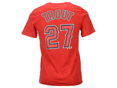 Los Angeles Angels Mike Trout MLB Youth Official Player T-Shirt