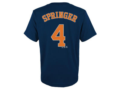 Houston Astros George Springer MLB Youth Official Player T-Shirt