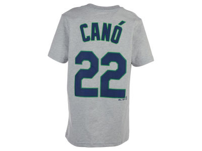 Seattle Mariners Robinson Cano MLB Youth Official Player T-Shirt