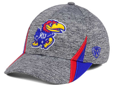 Kansas Jayhawks Top of the World NCAA HOTD M-Fit Cap