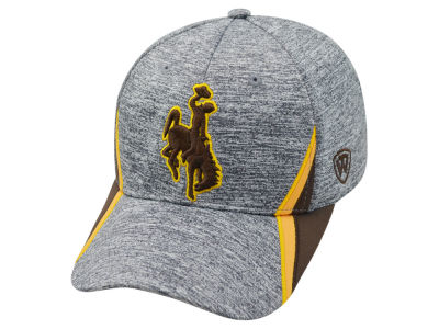 Wyoming Cowboys Top of the World NCAA HOTD M-Fit Cap