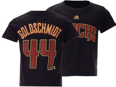 Arizona Diamondbacks Paul Goldschmidt  Majestic MLB Toddler Official Player T-Shirt
