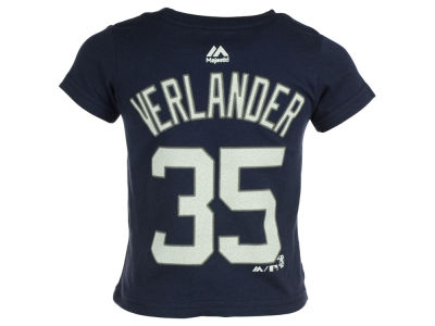 Detroit Tigers Justin Verlander MLB Toddler Official Player T-Shirt