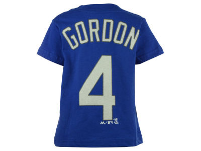 Kansas City Royals Alex Gordon Majestic MLB Toddler Official Player T-Shirt