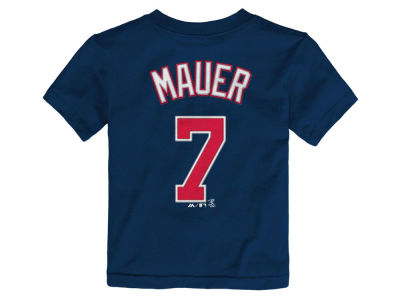 Minnesota Twins Joe Mauer MLB Toddler Official Player T-Shirt