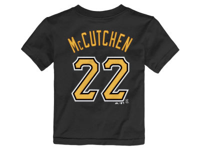 Pittsburgh Pirates Andrew McCutchen Majestic MLB Toddler Official Player T-Shirt