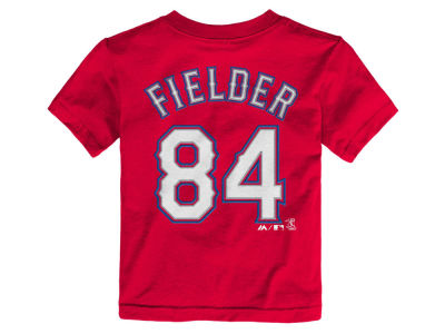 Texas Rangers Prince Fielder MLB Toddler Official Player T-Shirt