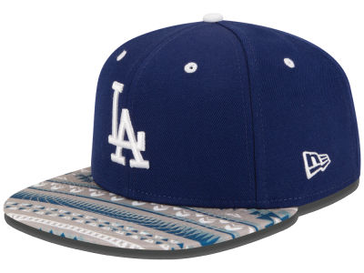 Los Angeles Dodgers New Era MLB Fair Isle Print 2.0 9FIFTY Snapback Cap
