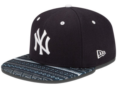 New York Yankees New Era MLB Fair Isle Print 2.0 9FIFTY Snapback Cap