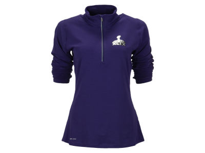 Super Bowl XLIX Nike NFL Women's Super Bowl XLIX Element Half Zip Pullover Shirt
