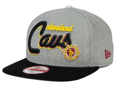 Cleveland Cavaliers New Era NBA HWC The Heather Bright Nights 9FIFTY Snapback Cap