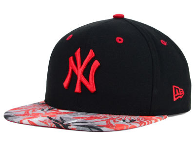 New York Yankees New Era MLB Floral Viz 9FIFTY Snapback Cap