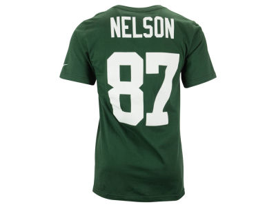 Green Bay Packers Jordy Nelson Nike NFL Men's Pride Name and Number T-Shirt