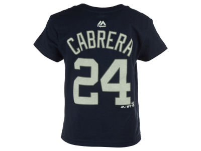 Detroit Tigers Miguel Cabrera MLB Kids Official Player T-Shirt