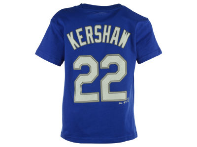Los Angeles Dodgers Clayton Kershaw MLB Kids Official Player T-Shirt