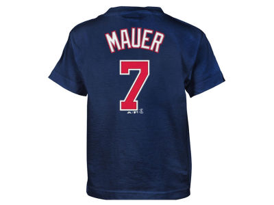 Minnesota Twins Joe Mauer MLB Kids Official Player T-Shirt