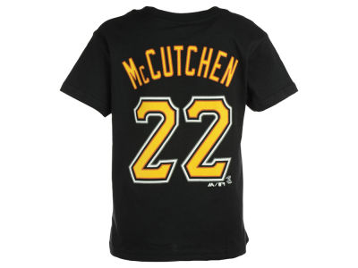 Pittsburgh Pirates Andrew McCutchen Majestic MLB Kids Official Player T-Shirt