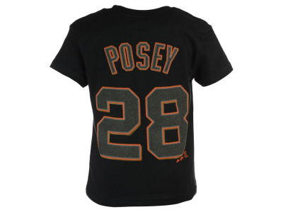 San Francisco Giants Buster Posey MLB Kids Official Player T-Shirt