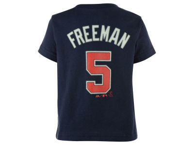 Atlanta Braves Freddie Freeman Majestic MLB Infant Official Player T-Shirt