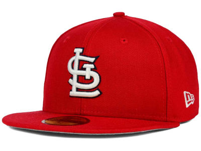 St. Louis Cardinals New Era MLB Stadium Patch 59FIFTY Cap