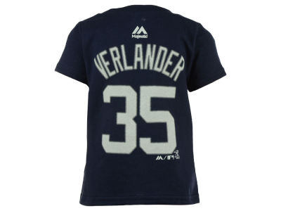 Detroit Tigers Justin Verlander MLB Infant Official Player T-Shirt