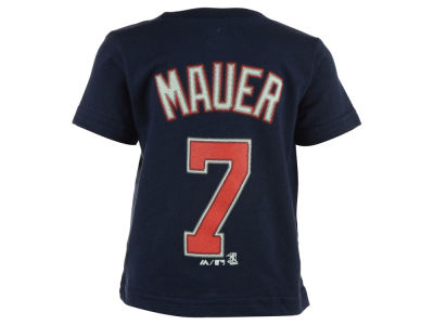 Minnesota Twins Joe Mauer Majestic MLB Infant Official Player T-Shirt