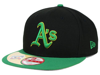 Oakland Athletics New Era MLB The Big Stage 9FIFTY Snapback Cap