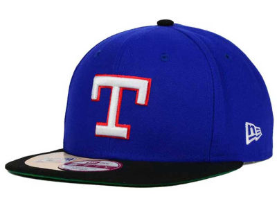 Texas Rangers New Era MLB The Big Stage 9FIFTY Snapback Cap