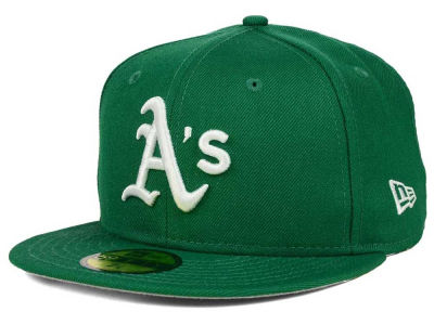 Oakland Athletics New Era MLB Anniversary Patch 59FIFTY Cap