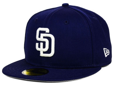 San Diego Padres New Era MLB Anniversary Patch 59FIFTY Cap