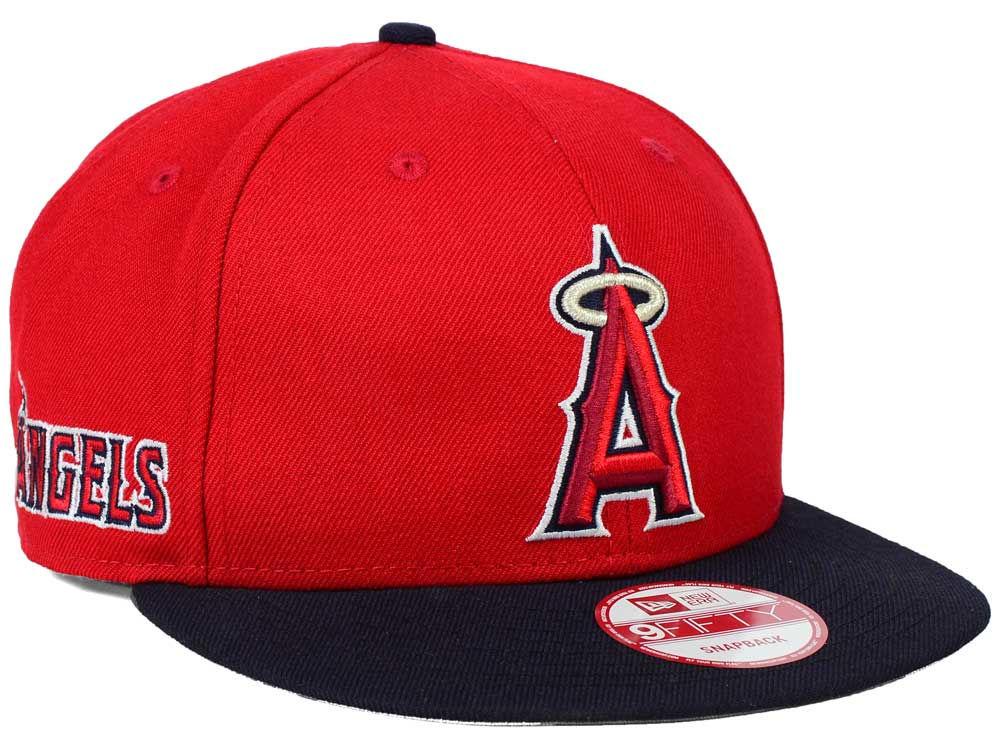 Los Angeles Angels New Era MLB 2 Tone Link 9FIFTY Snapback Cap ... 3eefde51f418
