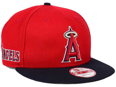 Los Angeles Angels New Era MLB 2 Tone Link 9FIFTY Snapback Cap