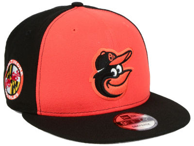 Baltimore Orioles New Era MLB 2 Tone Link 9FIFTY Snapback Cap