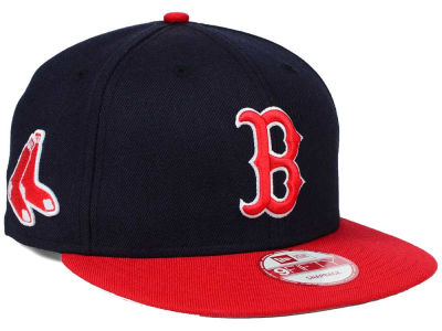 Boston Red Sox New Era MLB 2 Tone Link 9FIFTY Snapback Cap