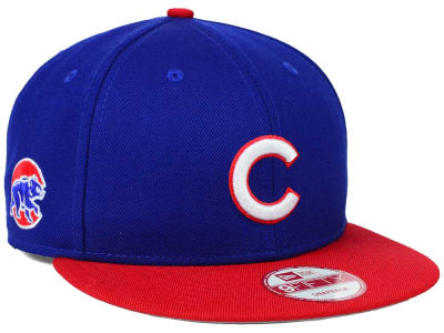 Chicago Cubs New Era MLB 2 Tone Link 9FIFTY Snapback Cap