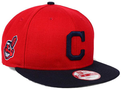 Cleveland Indians New Era MLB 2 Tone Link 9FIFTY Snapback Cap