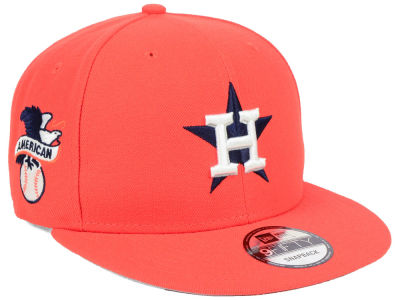 Houston Astros New Era MLB 2 Tone Link 9FIFTY Snapback Cap