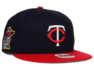 Minnesota Twins New Era MLB 2 Tone Link 9FIFTY Snapback Cap