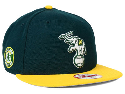 Oakland Athletics New Era MLB 2 Tone Link 9FIFTY Snapback Cap